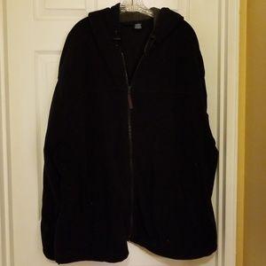 Basic editions jacket with hood